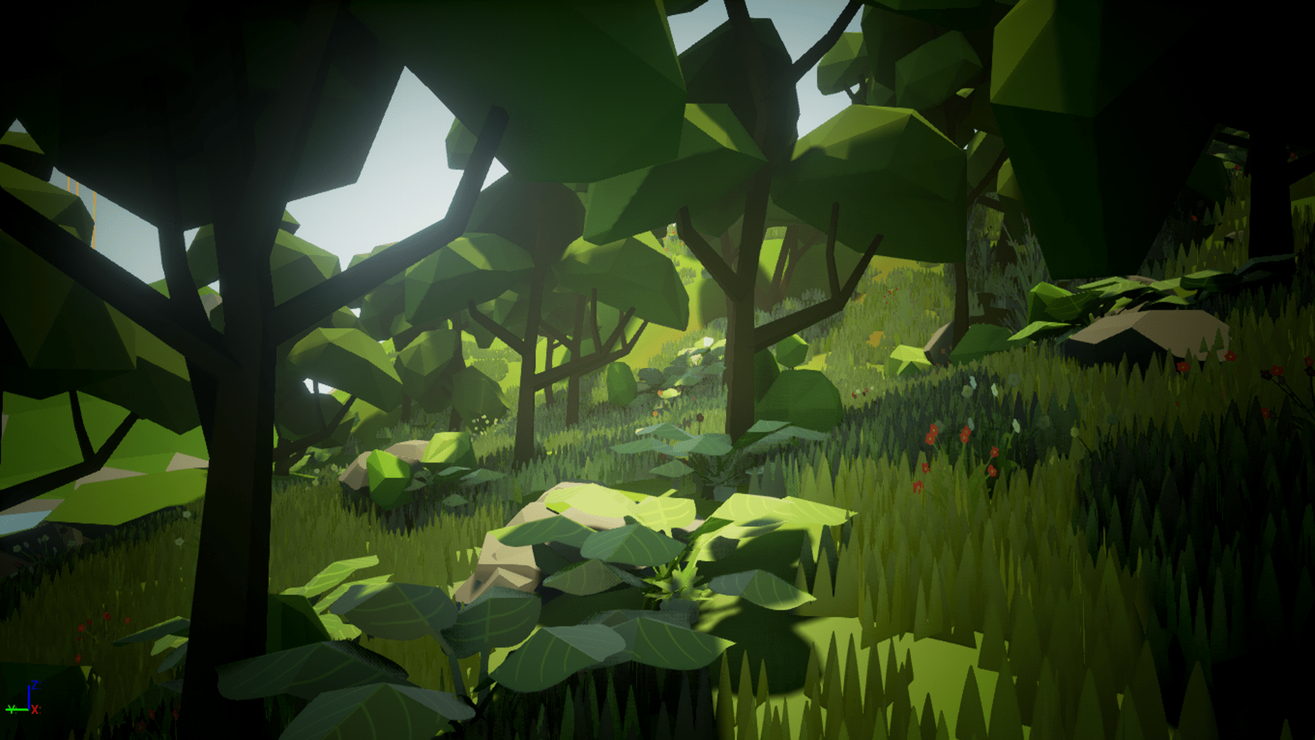 Olbert S Low Poly Forest By Whitman And Olbert In