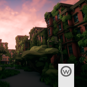 Assets pack that suits all the stuff required for create post-apocalyptic cities.
