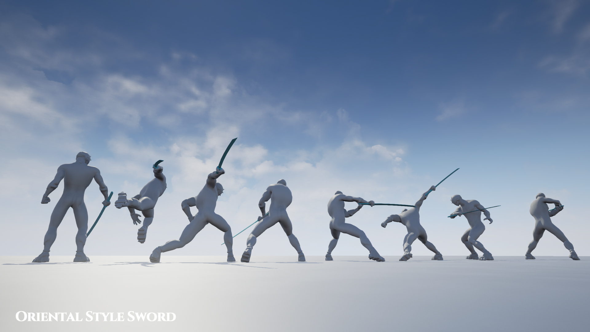Oriental Sword Animation Set by wemakethegame in Animations