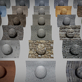 Edition 2 of my PBR Materials Pack for UE4 - This pack contains 30 seamless 8K PBR Materials.