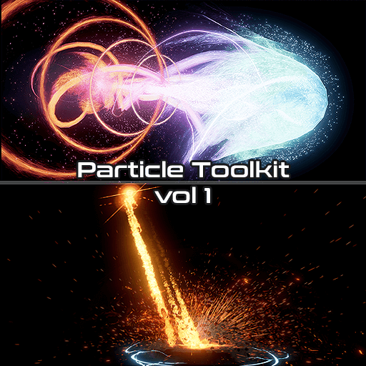 This Particle Toolkit Offers a load of meshes, noise textures, material functions, vectorfields and more for your vfx creation needs!