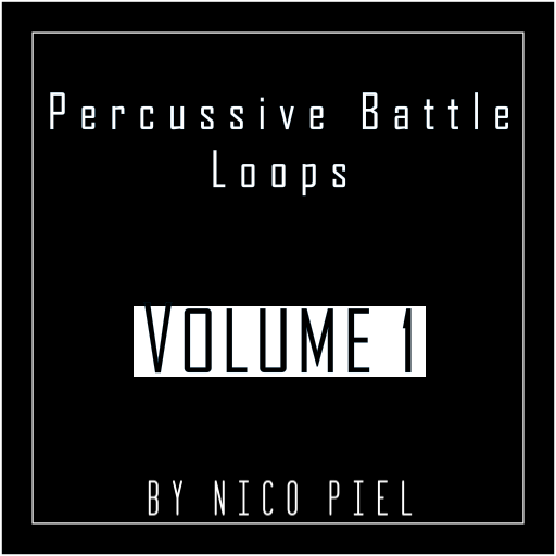 A pack of 6 high-quality percussive loops, designed primarily for background-music used in battles.
