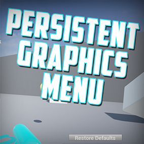 A system to give you the ultimate control over graphics options in your projects.