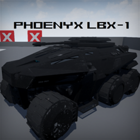 Phoenyx LBX-1 Tank Blueprint Vehicle.