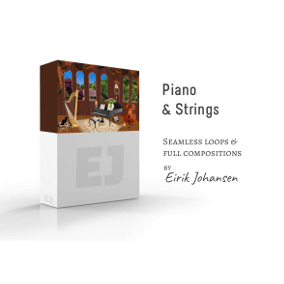 Piano and Strings is a calm and relaxing music library, perfect tool for bringing life into your open world sand box games or a dreamy scene, somewhere out in the forest. It contains 5 pieces of music - all with both loopable and full compositions.