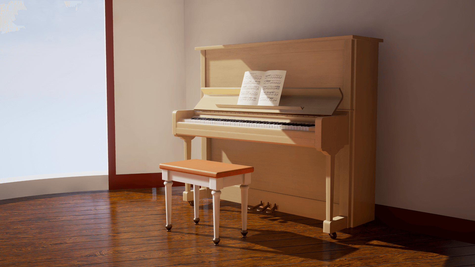Pianos Amp Benches Pack By Danlab In Architectural