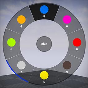 Example Pie Menu using UMG and Blueprint.