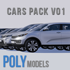 PolymodelsCars vol. 1 features 6 fully rigged customizable cars with drivers with follow spline functionality. Each rigged car and static mesh car has 3 LOD's. Fully ready for integration in the desktop or mobile UE4 game (project).
