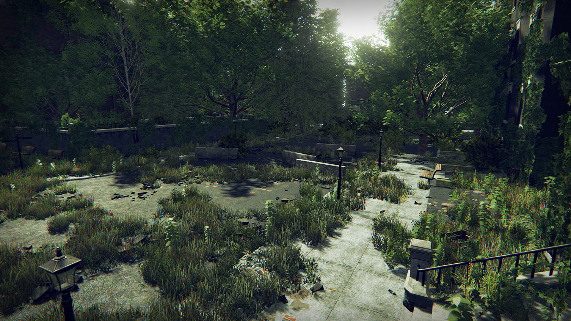 Post Apocalyptic World By Polypixel In Environments Ue4