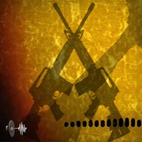 Near-future concept gunfire SFX