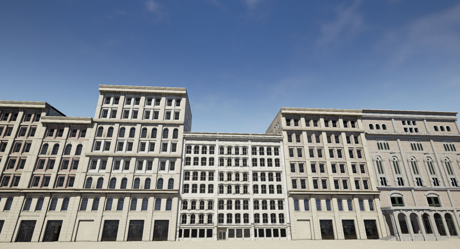 Procedural Building Lot by Ammobox Studios in Blueprints - UE4