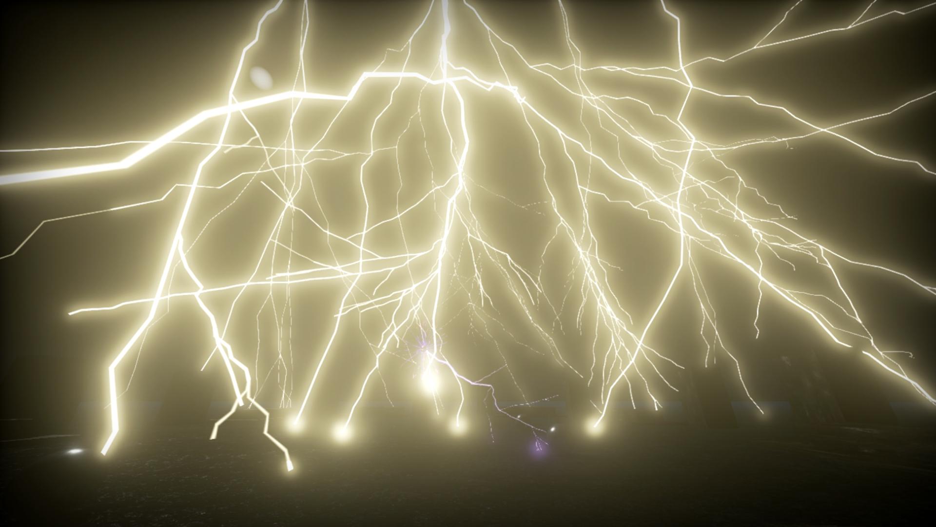 Procedural Lightning By Steven Verstoep In Fx Ue4 Marketplace