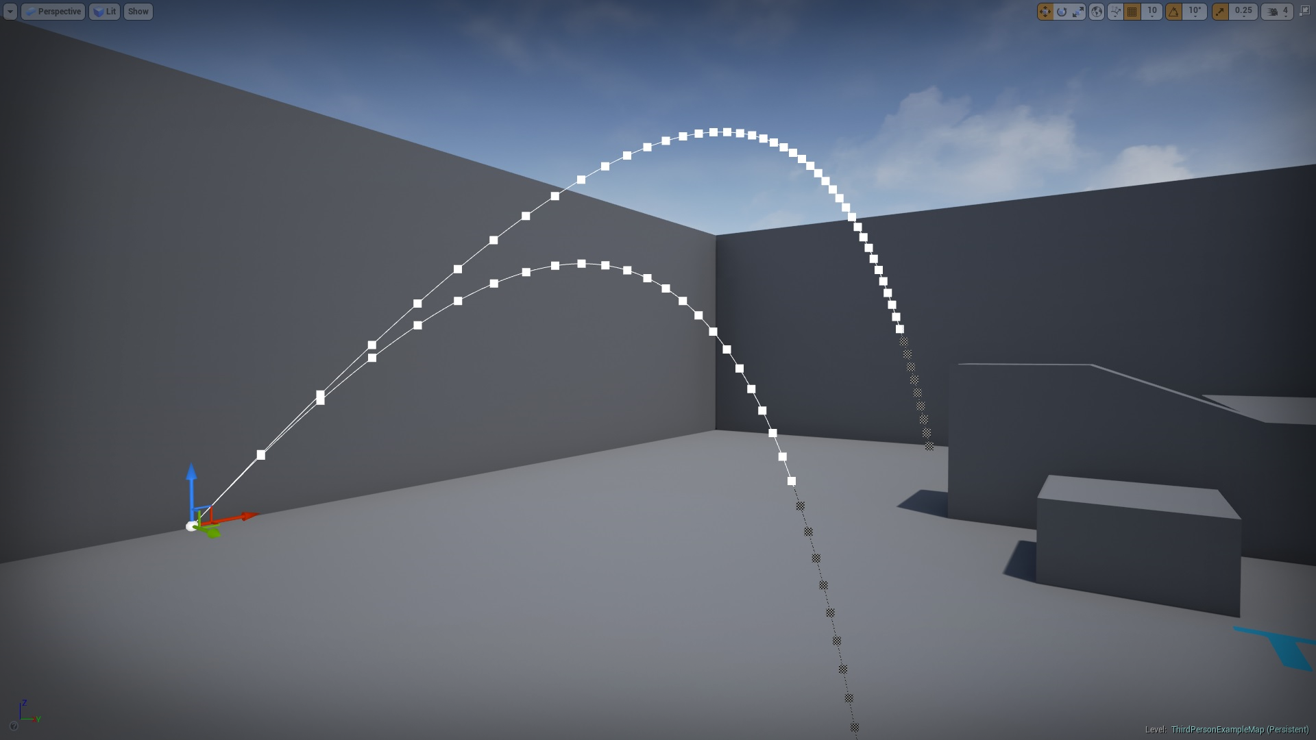 Physics-based projectiles by Valmin Miranda in Blueprints - UE4