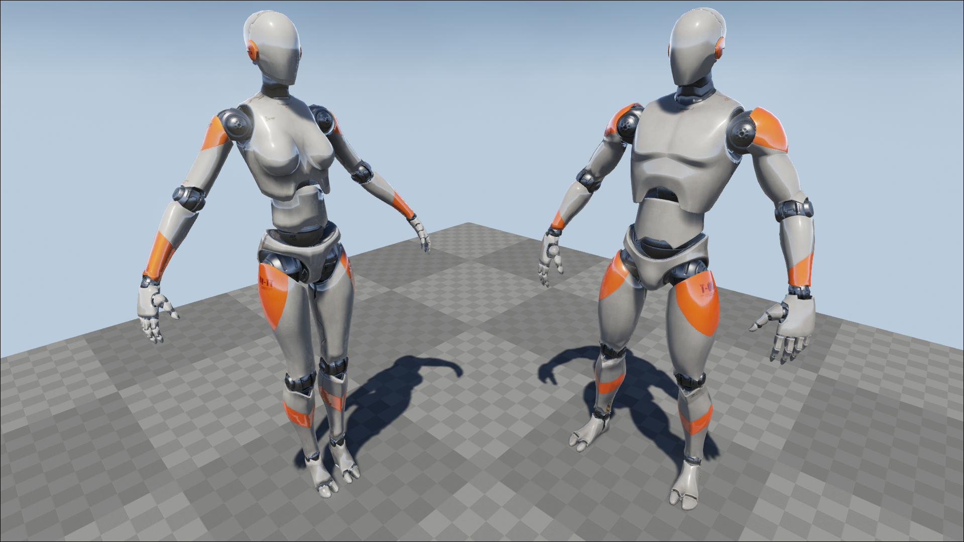 Character Design Unreal Engine : Prototype characters by ying pei games in ue
