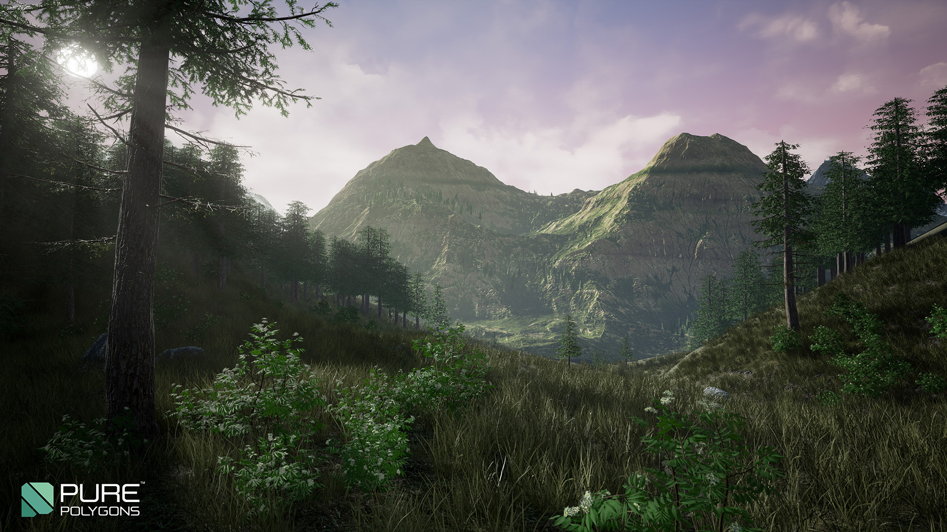 Procedural Nature Seasons Pack by PurePolygons in Environments - UE4