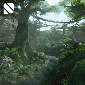 Procedurally Generate almost any nature scene you can think of with these assets!