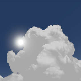 3D Cloud Models is a collection of 14 curved-billboard meshes with photoreal cloud textures.