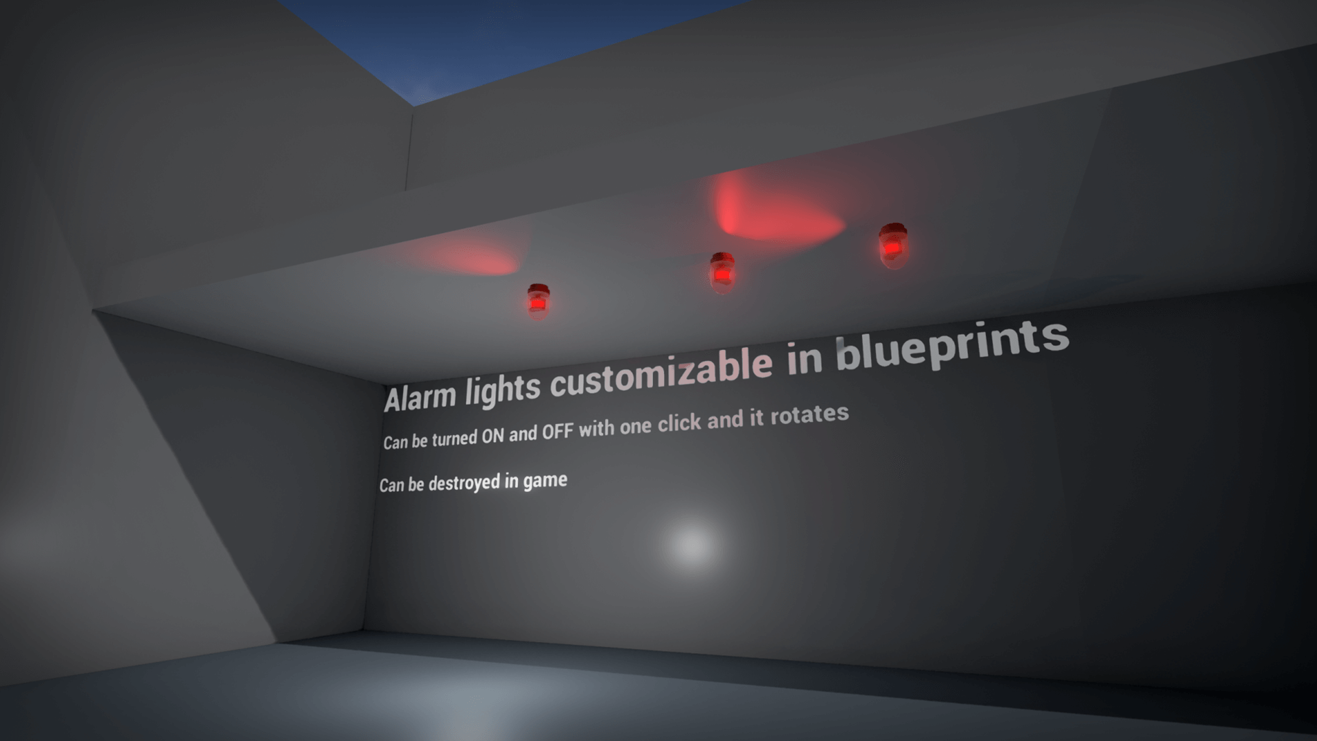 Interactive Industrial Lights and Switches Blueprints compatible ...