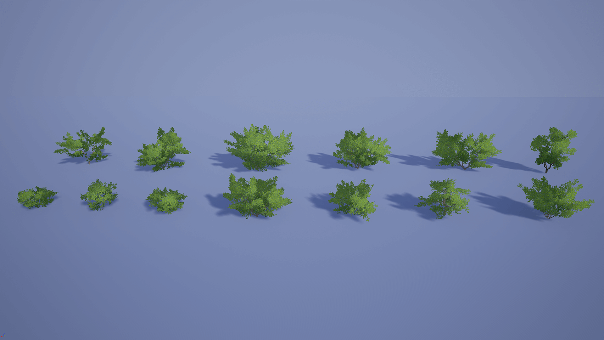 Realistic Bushes 1 By Defuse Studios In Props Ue4 Marketplace