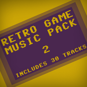 30 Music Tracks, replicating the sound of retro video game systems.