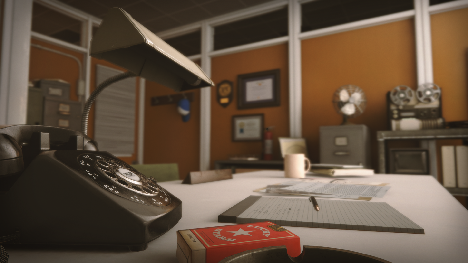 Delicieux Retro Office Environment By Dekogon Studios In Environments   UE4  Marketplace