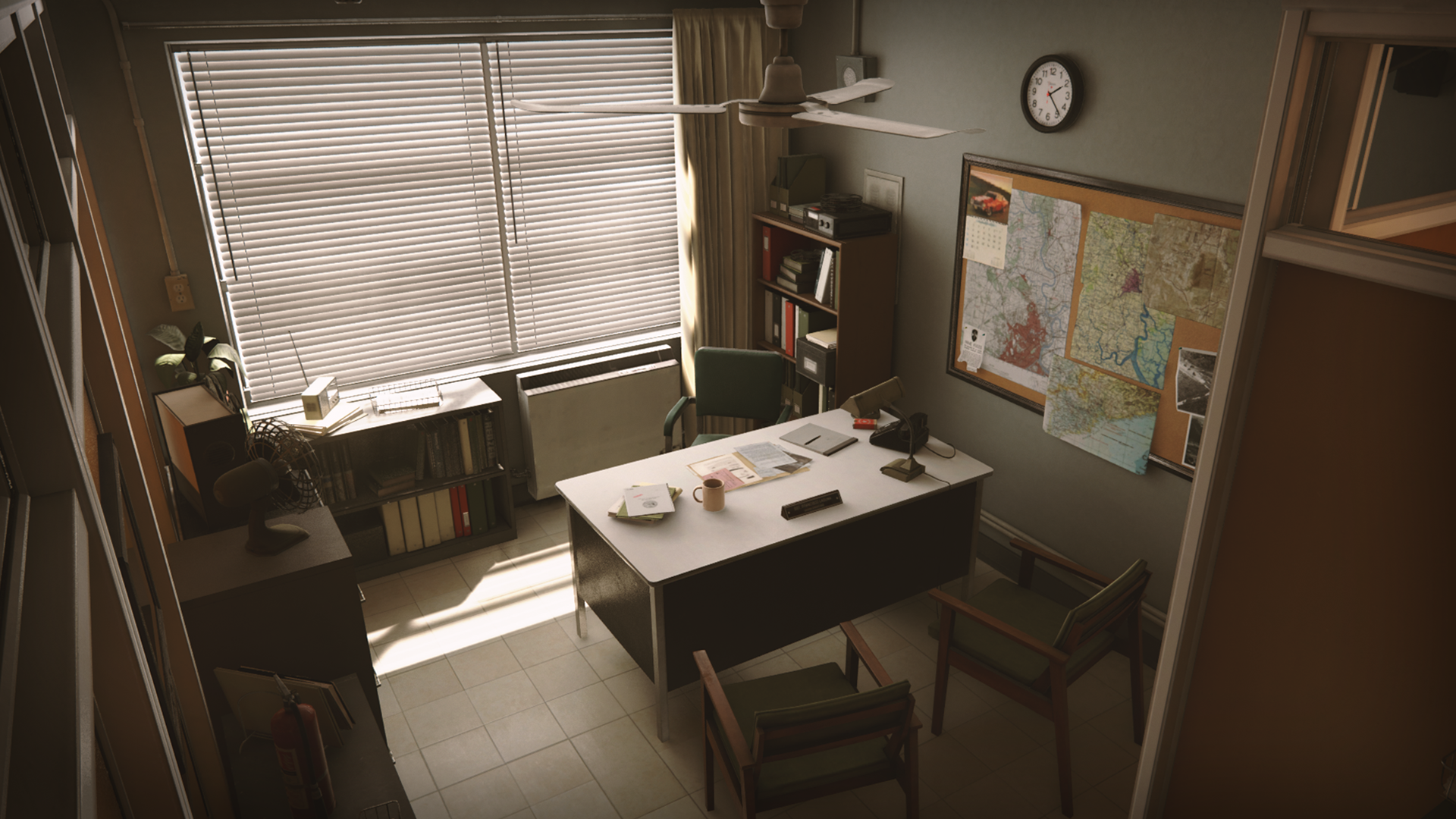 Charmant Retro Office Environment By Dekogon Studios In Environments   UE4  Marketplace