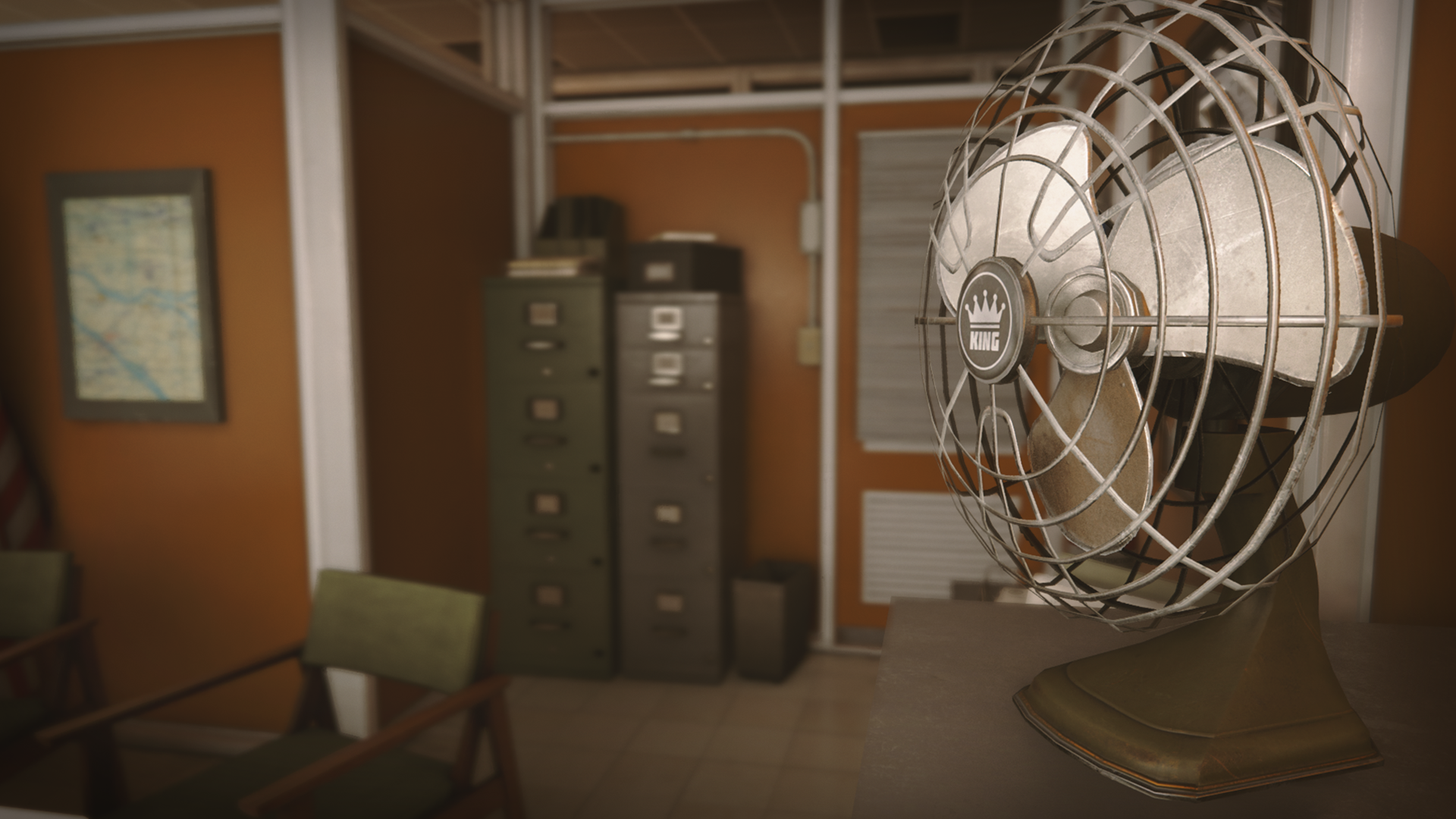 Retro Office Environment By Dekogon Studios In Environments   UE4  Marketplace