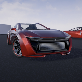 Revenge is a custom sports car with character interaction that you can use it in your projects.