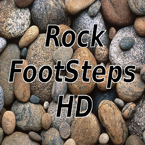 Most packs contain lots of footsteps most of which you never need. Your game is has many mountain regions? Then you might just need rocky footsteps! And this pack gives you just that, Rock Footsteps.