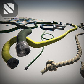 Create Spline Generated - Ropes, Hoses, and Sci-fi Cables in seconds INSIDE the Unreal Engine