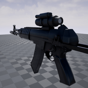 Modern Russian weapon pack: Assault rifle, SMG, Sniper rifle with 2K and 4k textures.