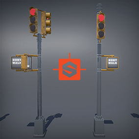Big pack of highly detailed NY style Traffic and Street lights, this pack contains 31 meshes plus LOD's and Collision meshes.