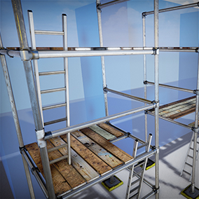Complete pack of assets to furnish your games with all the scaffolding you could ever need.
