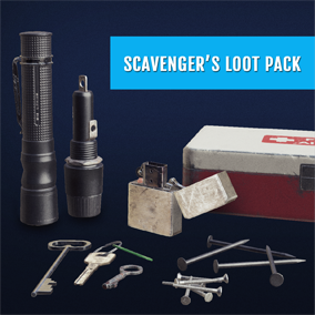 A pack of assets for everyone who loves to scavenge, loot or craft in adventure, survival / horror games. Objects are grouped into 5 categories: Craft Parts, Food, Health, Misc and Tools. Open wishlist: Vote for new assets to be added in future updates!