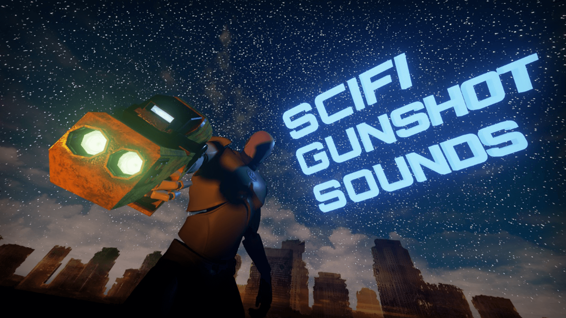 Scifi Gunshot Sounds by Bartosz Kamol Kaminski in Sound