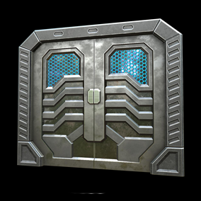 This pack contains 4 professional quality doors with high quality PBR textures in 4k resolution. Ideal for industrial or futuristic world.