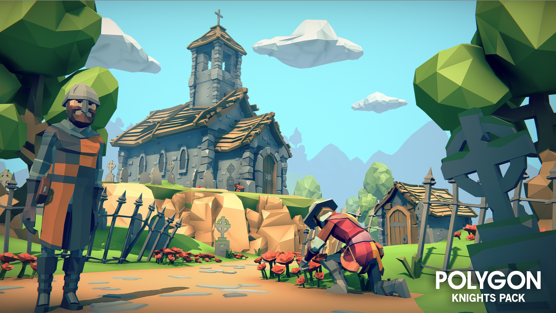 Unreal Engine 4 - POLYGON Knights Pack