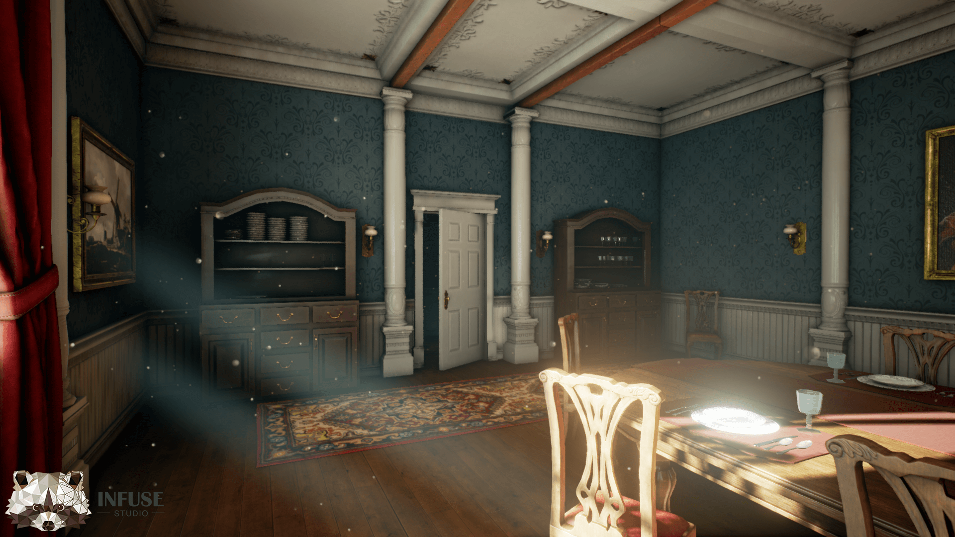 Magnificent Victorian Dining Room By Infuse Studio In Environments Ue4 Download Free Architecture Designs Griteanizatbritishbridgeorg