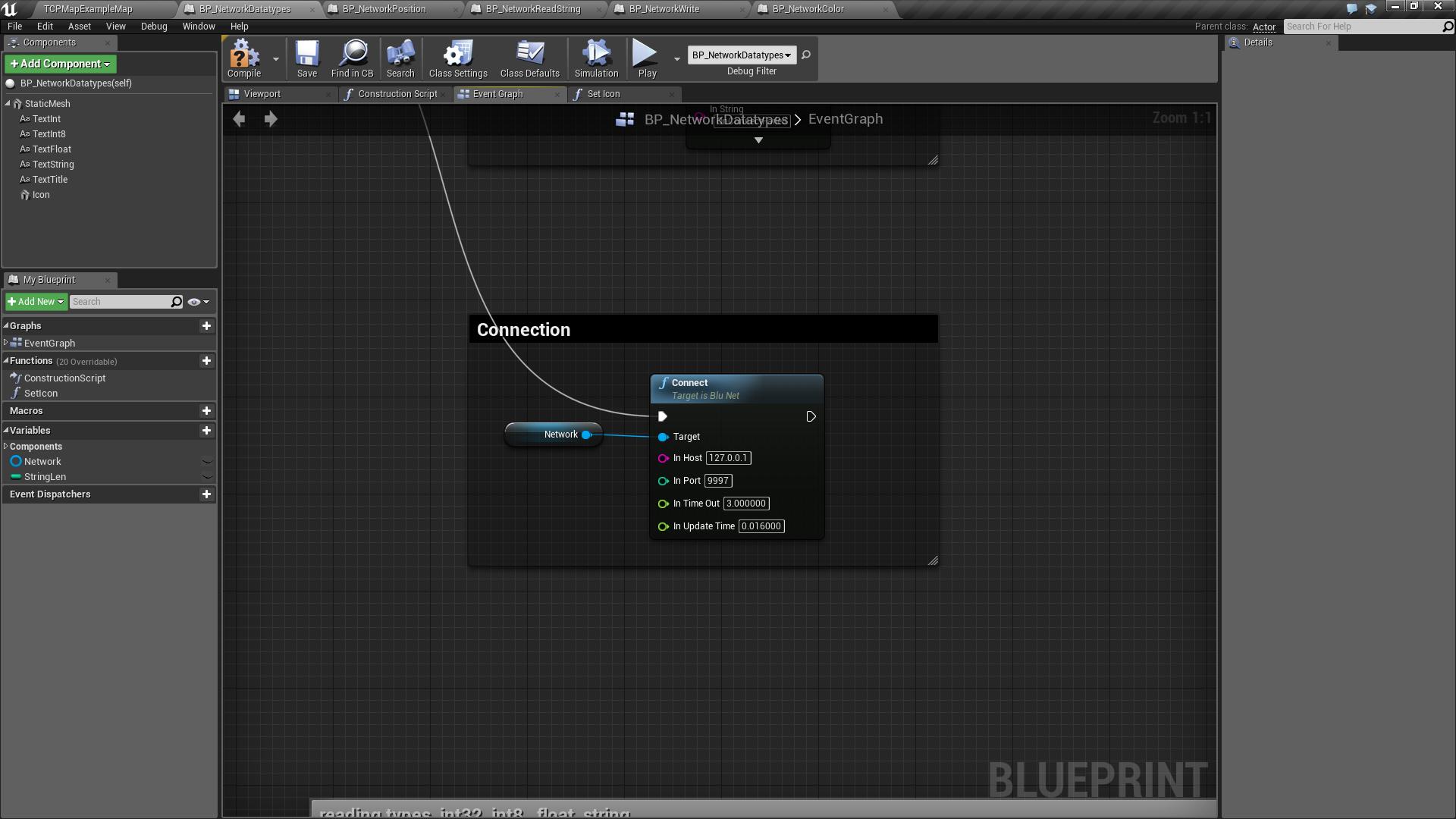 Tcp blueprint plugin by luis alberto in code plugins ue4 marketplace malvernweather Gallery
