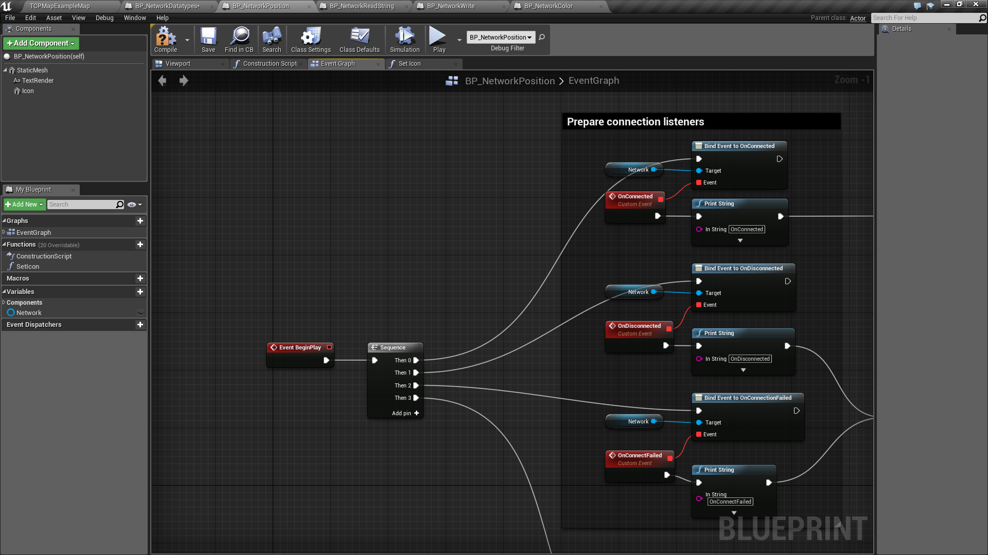 Tcp blueprint plugin by luis alberto in code plugins ue4 marketplace malvernweather Image collections