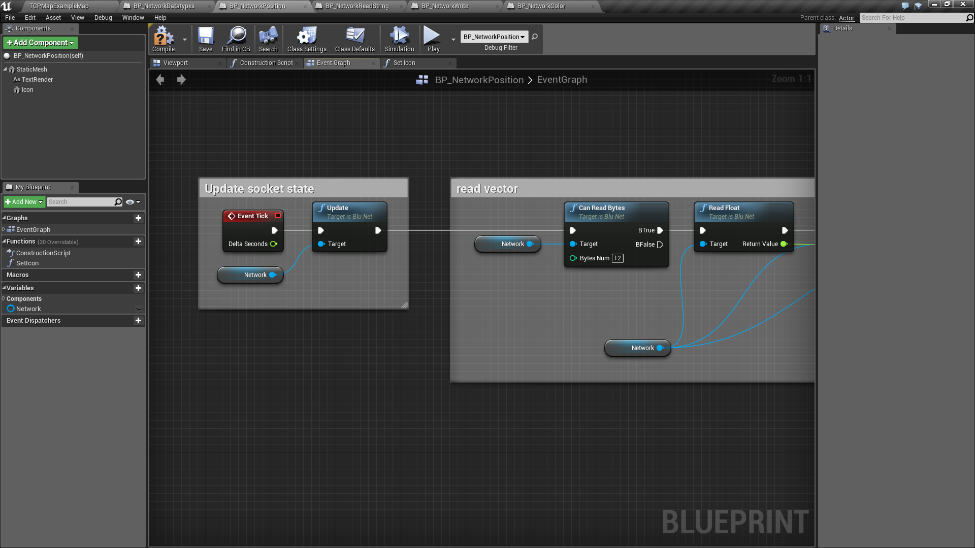 how to add a object reference blueprint unreal