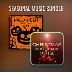 Christmas and Halloween Themed Game Music Bundle.