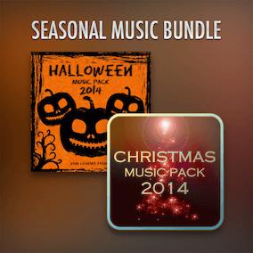 Christmas and Halloween Themed Game Music Bundle.