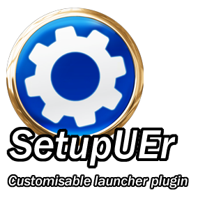 A configurable UE4 game launcher plugin with graphics and keyboard settings.