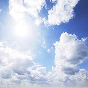 25 photorealistic skies