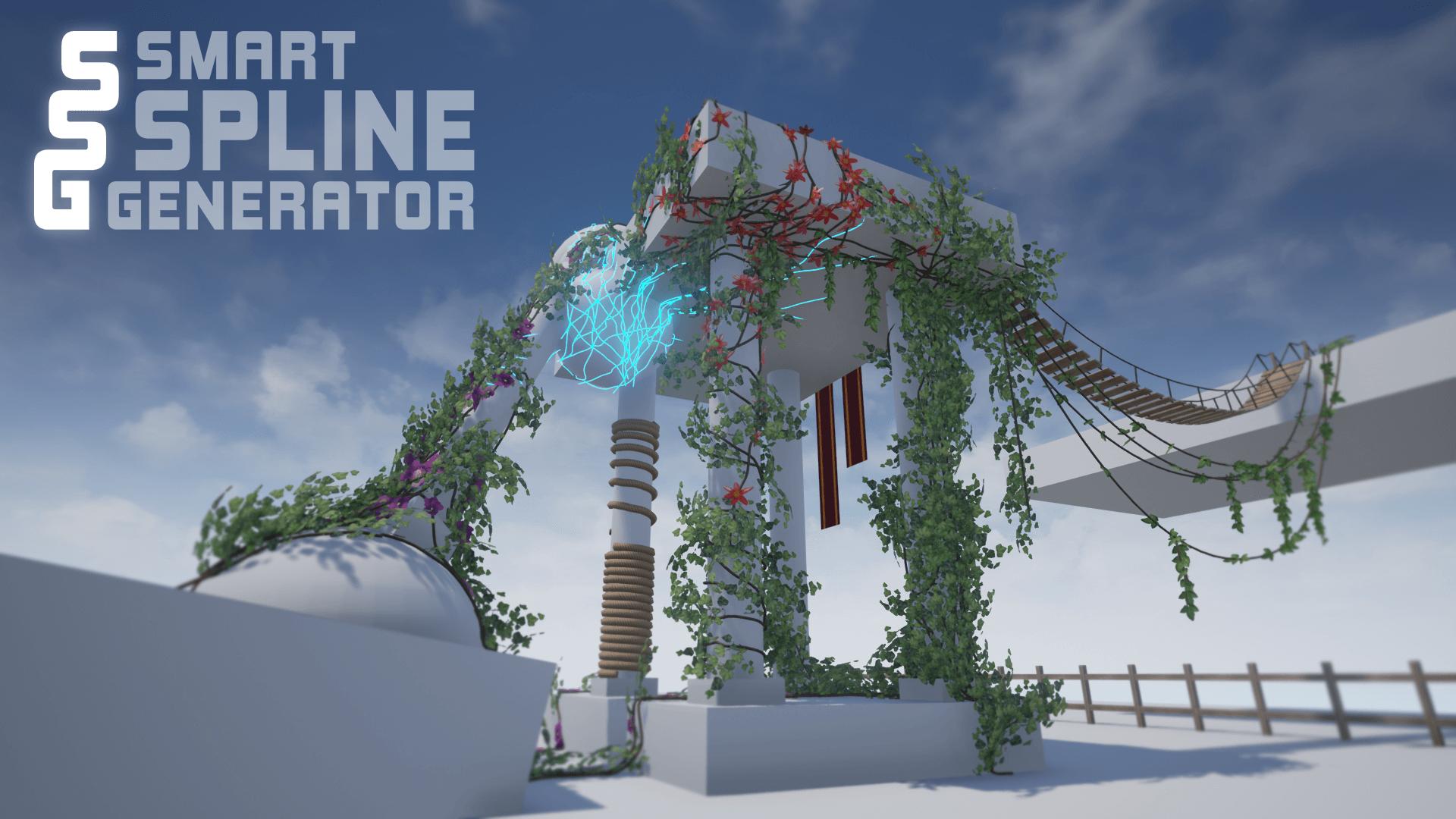 Smart spline generator by s krezel in blueprints ue4 marketplace share malvernweather Images