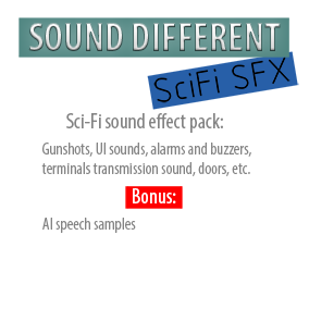 Various sound FX in SciFi style. All sound created from field recorded sources or synthesized fully synthetically.