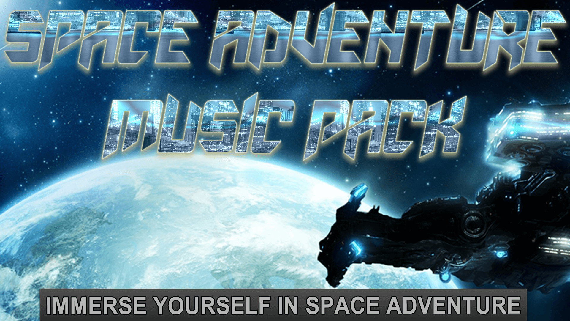 Space Adventure Music Pack by MuzStation Game Music in Music