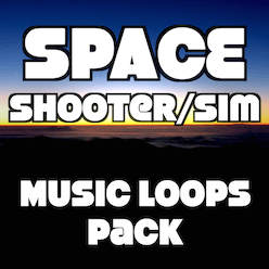 The Space Music Pack is collection of 6 looping cues perfect for any Sci-Fi Action, Sim or Exploration game.