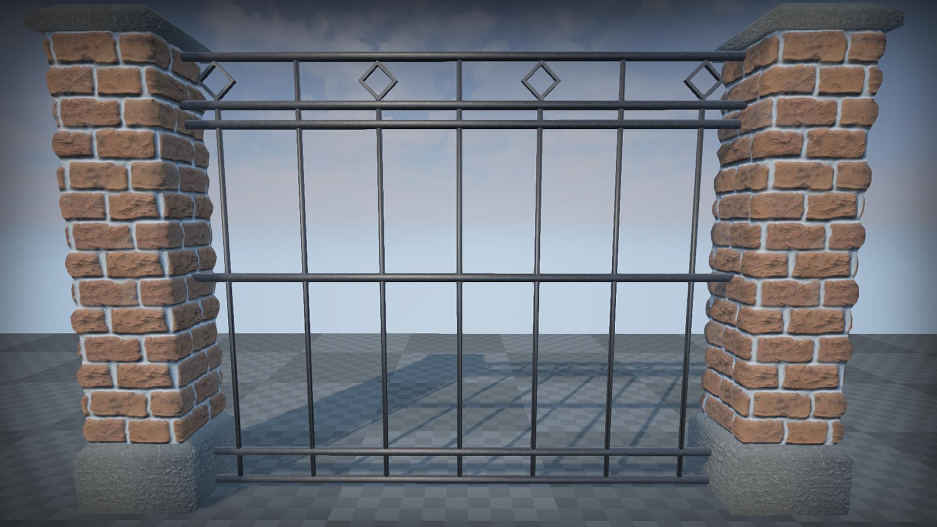 Asset Designer Fencing Spline enabled fence pack by hostileassets in blueprints ue4 share workwithnaturefo